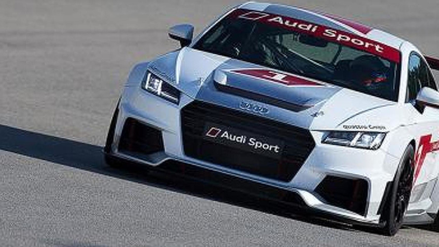 Audi TT race car revealed, will compete in new single-make series [video]