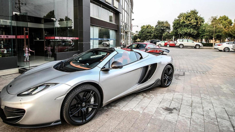 McLaren MP4 Spider by MSO gets subtle tweaks from DMC