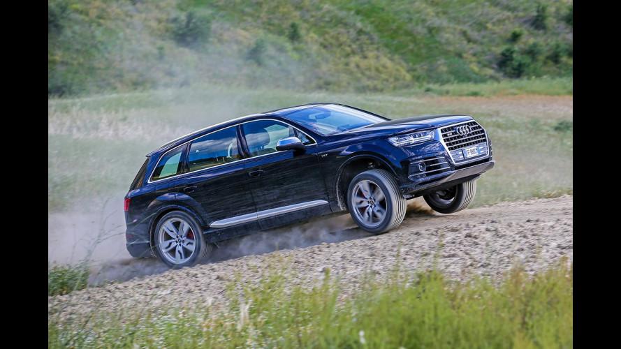 Audi SQ7 TDI, diesel e sportiva col turbo elettrico