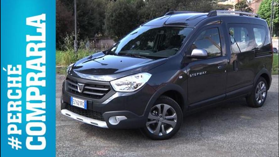 Dacia Dokker Stepway, perché comprarla... e perché no [VIDEO]