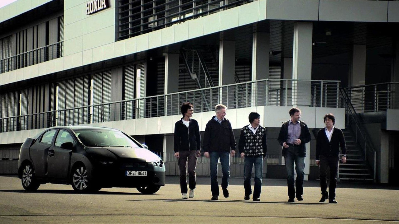 2012 Honda Civic development 26.08.2011