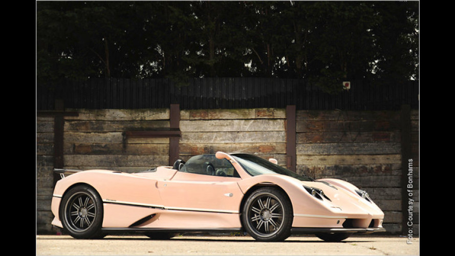 Autoträume in Goodwood: Elvis-Pink oder Ex-Beatle-Flair