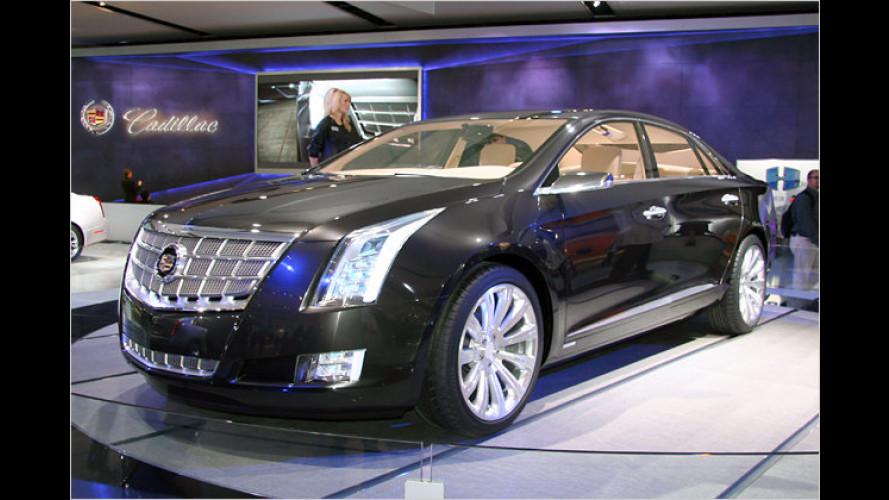 Cadillac XTS Platinum Concept: Luxus mit Hybrid-Antrieb
