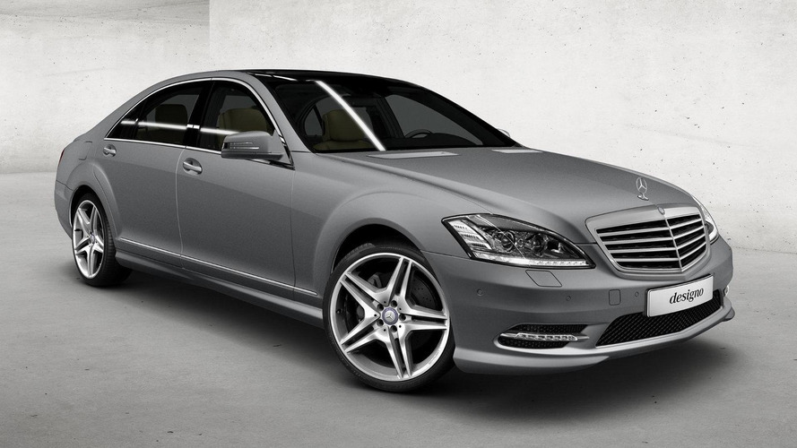 Mercedes Canada announces matte paint option for designo program