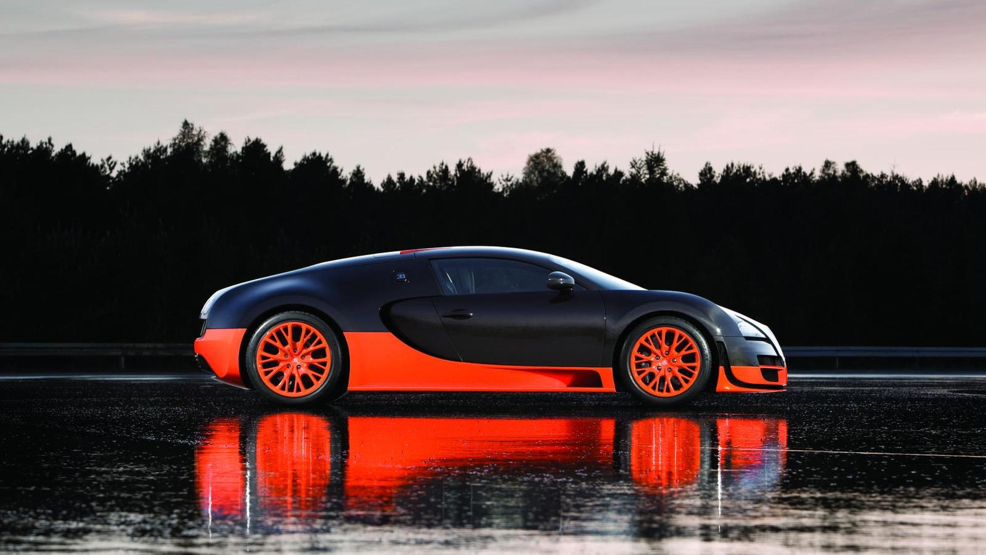 Bugatti Veyron 16.4 Super Sport Revealed   Sets 268 Mph Land Speed World  Record Gallery