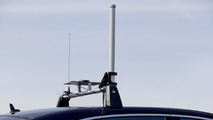 """Automated Driving"" at Mercedes-Benz - A GPS antenna sends the position data to the control Station."