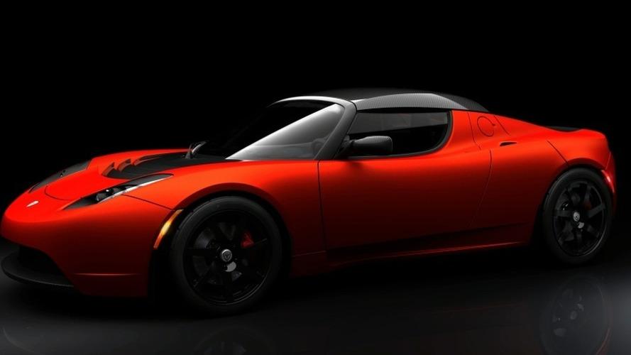 Tesla Roadster Sport Introduced
