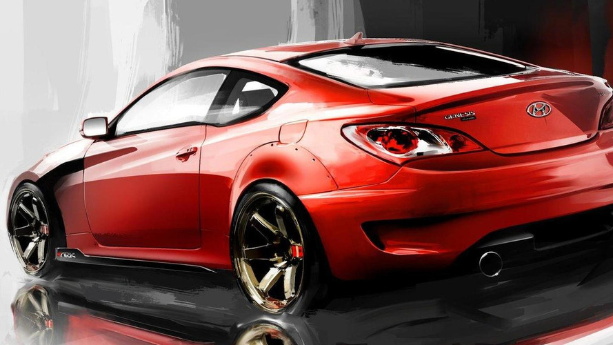 Hyundai Genesis Coupe 3.8L by ARK to debut at SEMA