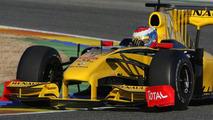 Vitaly Petrov (RUS), Renault R30 testing, 03.02.2010 Valencia, Spain