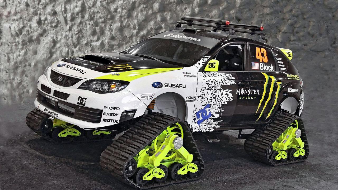 Subaru WRX STI TRAX concept for SEMA 2009