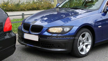 BMW 3-Series Coupe E92 facelift spy photo