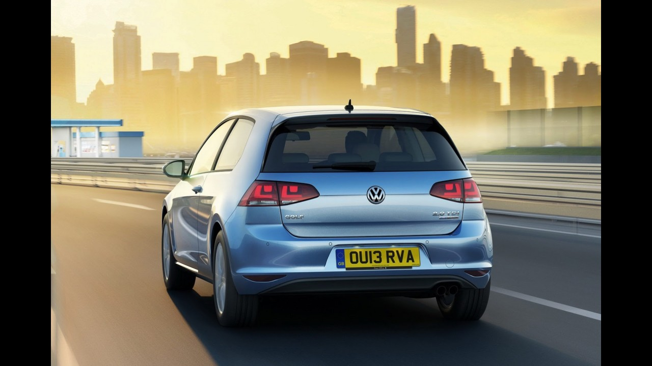 Reino Unido: Golf BlueMotion faz 31,2 km/l e custa R$ 63 mil