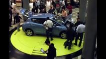 Nissan LEAF é carro oficial da IV Conferência de Prefeitos C40 São Paulo