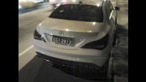 Flagra: candidato a nacional, Mercedes CLA já roda limpo no Brasil