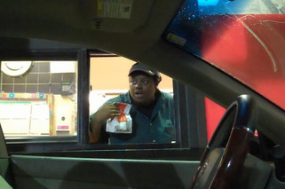 Video: This Driverless Car in the Drive Thru is Leaving People Pretty Damn Confused