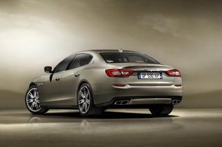 2013 Maserati Quattroporte Tastefully Refreshed Ahead of Detroit Debut