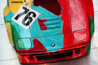 Warhol and Cars: Pop Art and Motoring Met Often