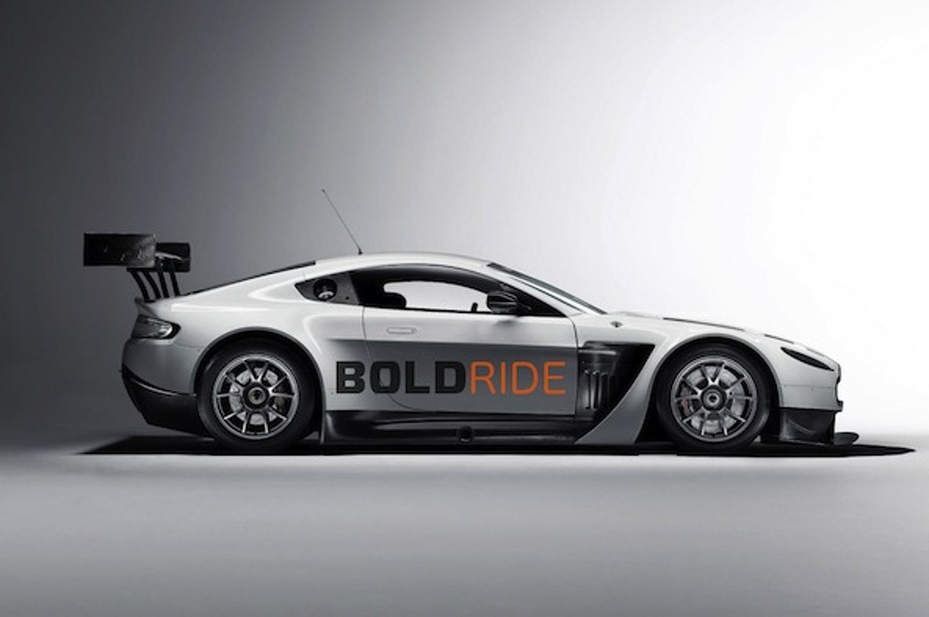 Design Your Own Aston Martin GT3 Car