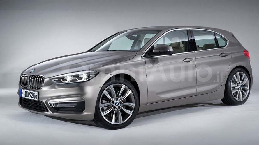Next-generation BMW 1 Series speculatively rendered