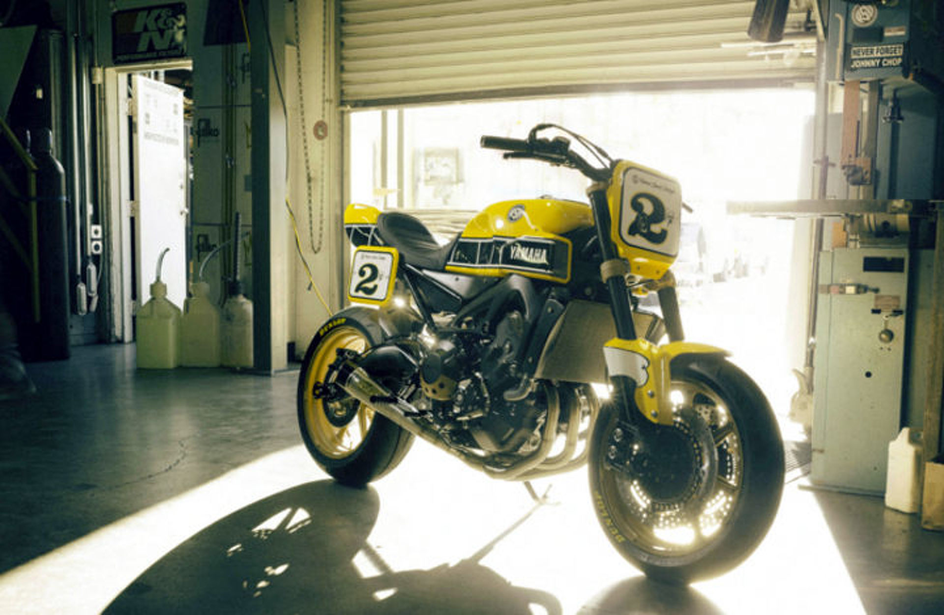 Yamaha and Roland Sands Team up to Build the Faster Wasp