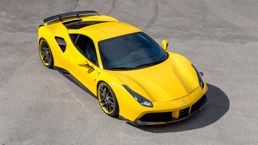 Ferrari 488 GTB upgraded to 772 hp by Novitec Rosso
