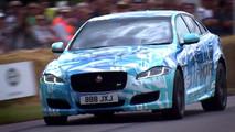 2018 Jaguar XJR - 2017 Goodwood Hız Festivali