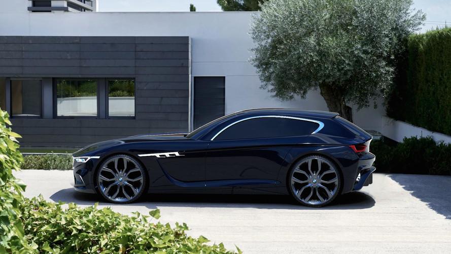 BMW M Coupe konseptine modern yorum