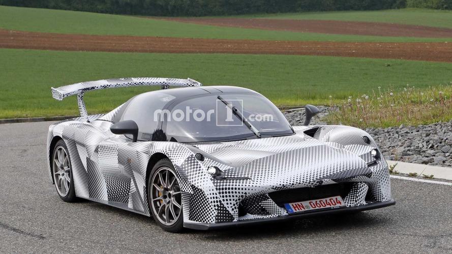 Photos espion - Dallara prépare activement sa future supercar