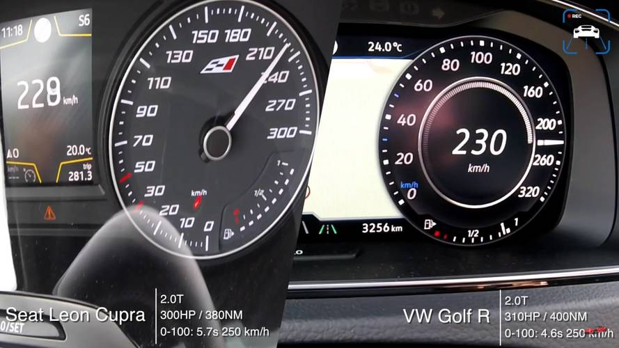 VIDÉO - Volkswagen Golf R ou SEAT Leon Cupra ?