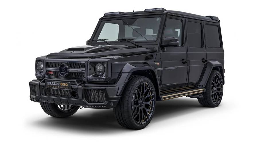 Brabus 850 Buscemi Edition based on Mercedes-AMG G63