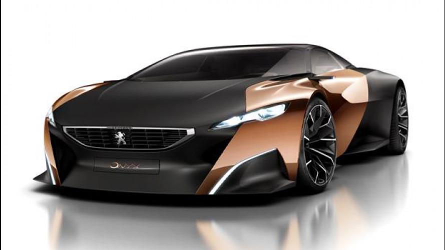 Peugeot Onyx svelata dalla rete