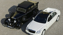 Maybach 62S Landaulet - old and new