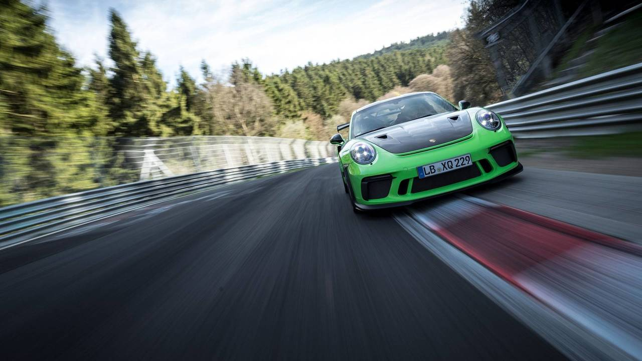 Porsche 911 Gt3 Rs Laps The N 252 Rburgring In 6 56 4