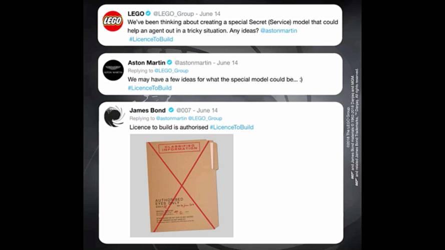 James Bond's Aston Martin teased for upcoming Lego model