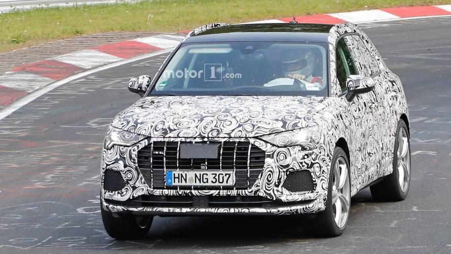 Photos espion - Audi RS Q3