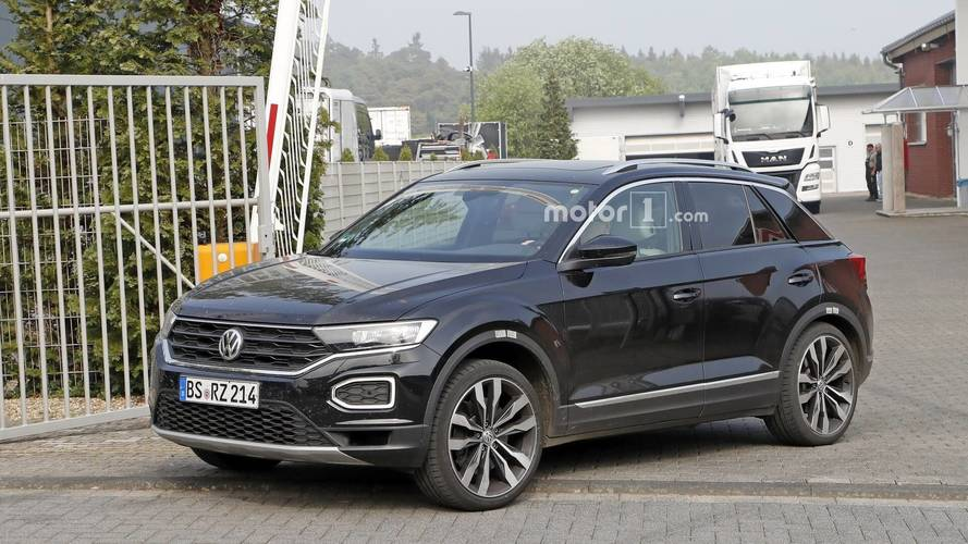 VW T-Roc R Photos espion
