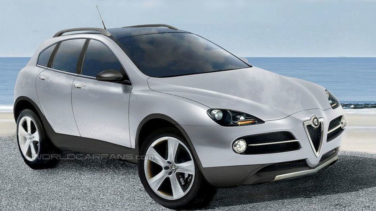SPY PHOTOS: Alfa Romeo SUV - Artist Impression