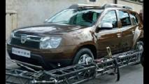 Novo SUV da Renault é flagrado novamente - Produção no Brasil começa em 2011