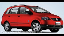 VW lança a SpaceFox Route por R$ 48.410 - Reestilização chega em breve