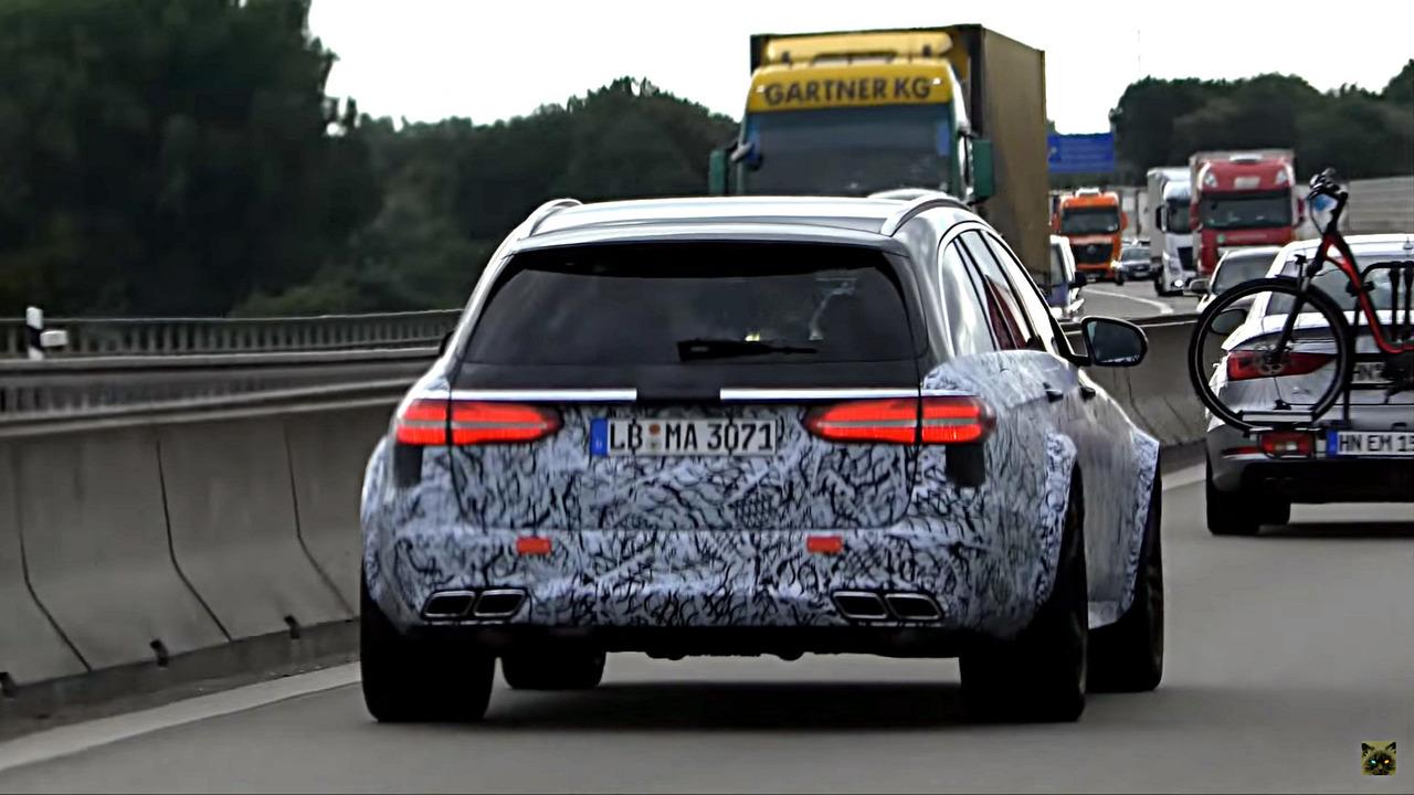 Mercedes-AMG E63 Black Series Spy Video
