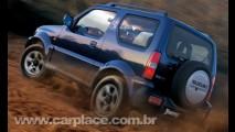 Suzuki Jimny também deve voltar ao Brasil - Jipinho off-road tem tração 4x4