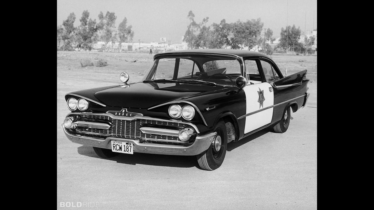 Dodge Coronet Police Vehicle