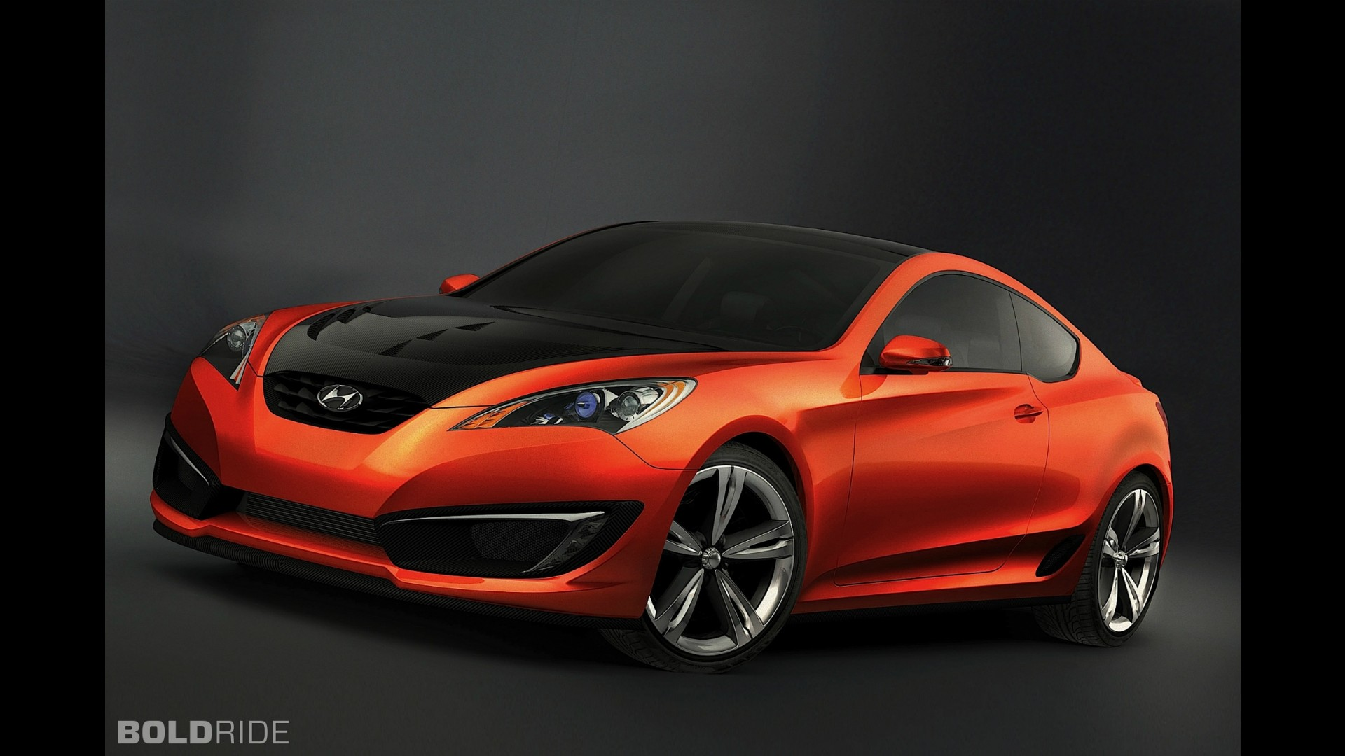 hyundai genesis coupe concept. Black Bedroom Furniture Sets. Home Design Ideas