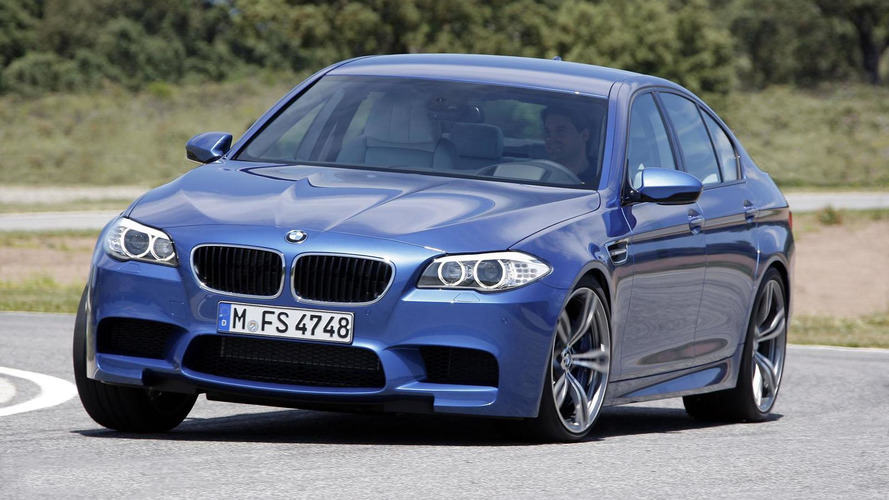 2012 BMW F10 M5 on the track [video]