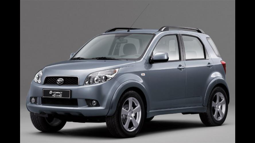 Daihatsu D-Compact 4x4: SUV-Studie als Terios-Nachfolger?