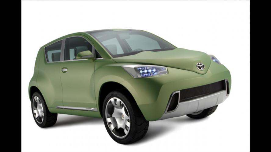 Toyota Urban Cruiser: Kompakter SUV unterhalb des RAV4