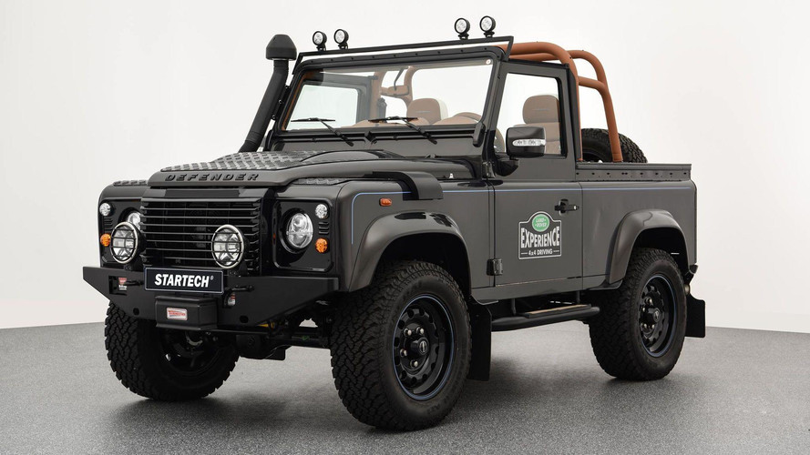 Land Rover Defender Gets Startech's Idea Of An Autobiography Trim