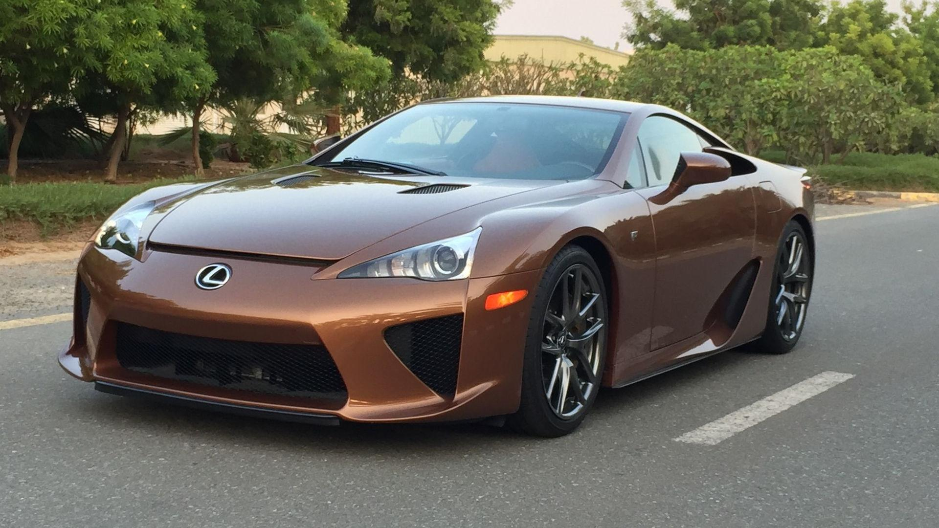 Home Interior Design Usa 645k Will Buy You The Only Pearl Brown Lexus Lfa In The World