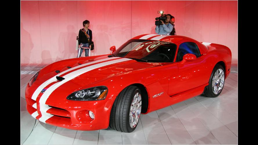 Dodge Viper SRT10: Flinke Schlange wird 2008 noch bissiger