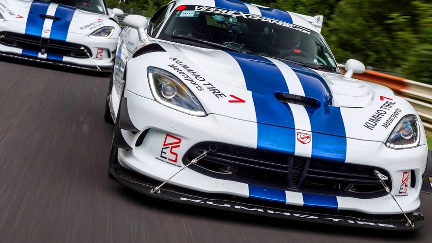 Record pour la Dodge Viper ACR sur le Nürburgring!